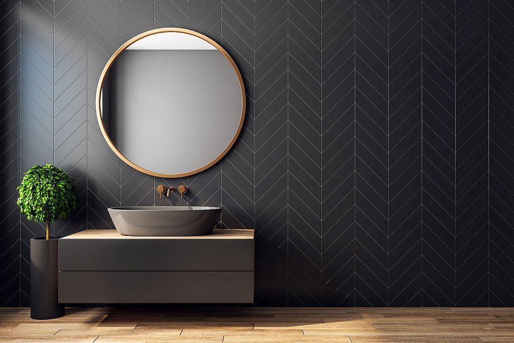 Spiegel für Badezimmer, Wände, Schränke
